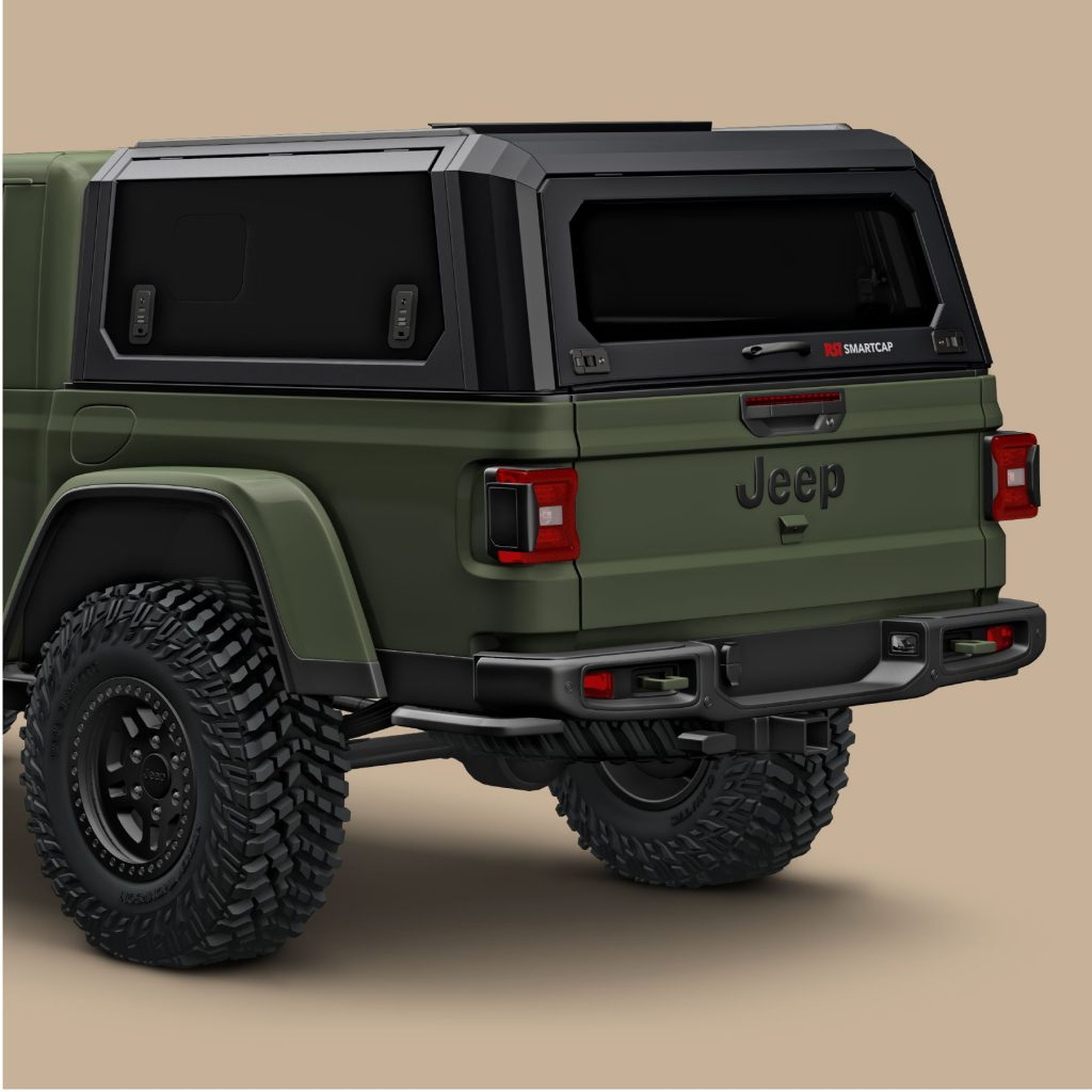 All The Jeep Gladiator Needs Is A Bed Cap Muscle Cars Trucks