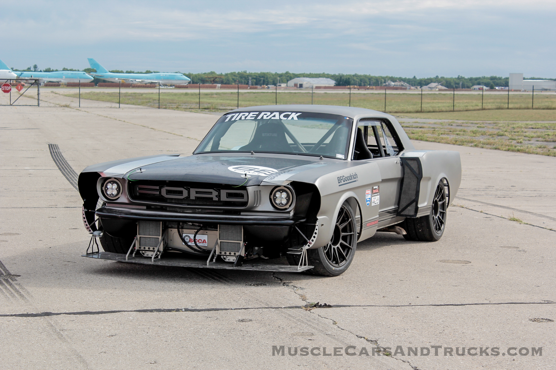 1965 Ford Mustang restomod Mark Stevens Oscoda Autocross 2020