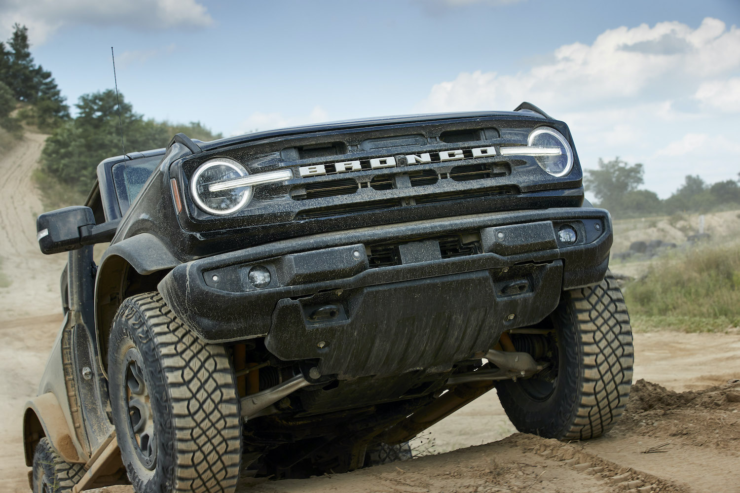 Ford Bronco IFS