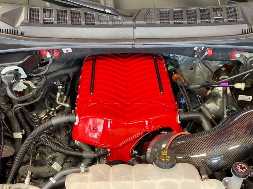 Ford F-150 Supercharger