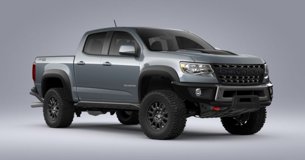 2021 Chevrolet Colorado Zr2 Bison Updates Pricing Differences