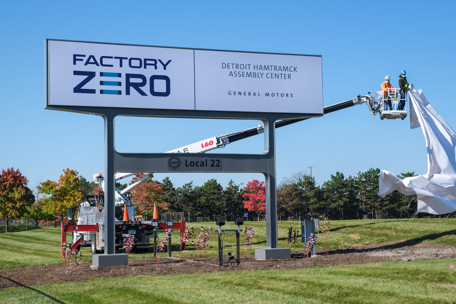 GM Factory Zero is the home of the GMC Hummer EV and the upcoming Chevrolet SIlverado EV electric vehicles