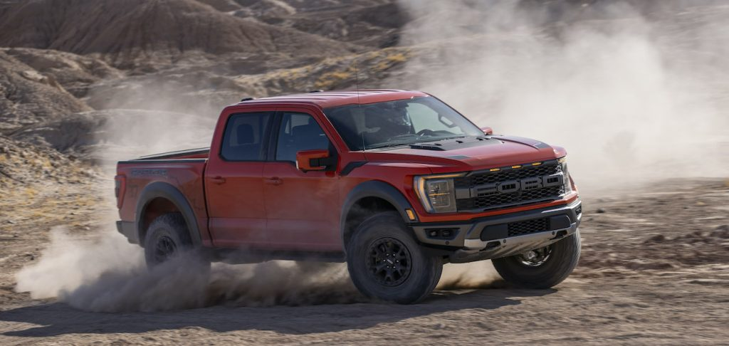 2021 Ford F-150 Raptor production deliveries ordering