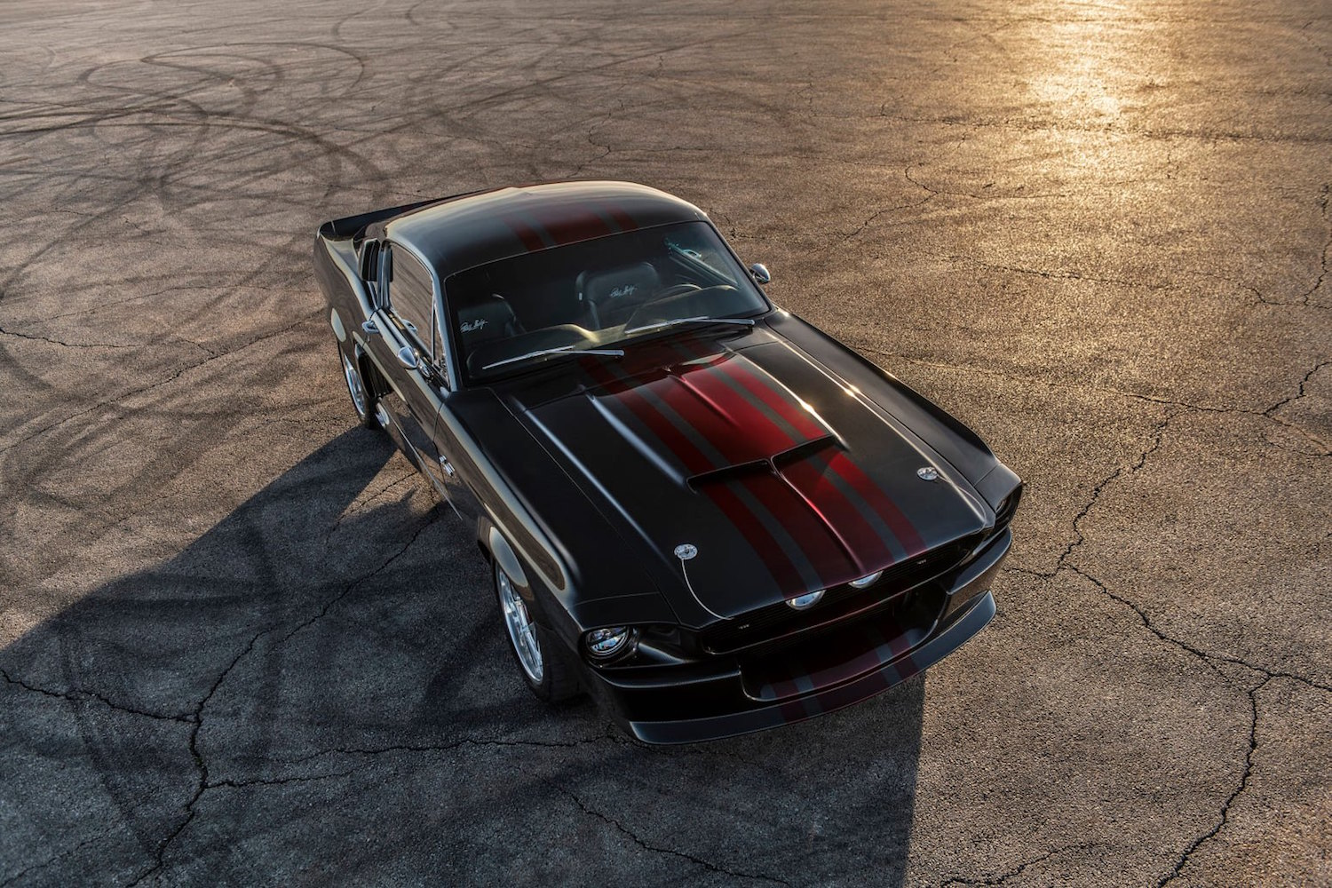 Classic Recreations Shelby GT500CR is a Carbon bodied Ford Mustang Restomod