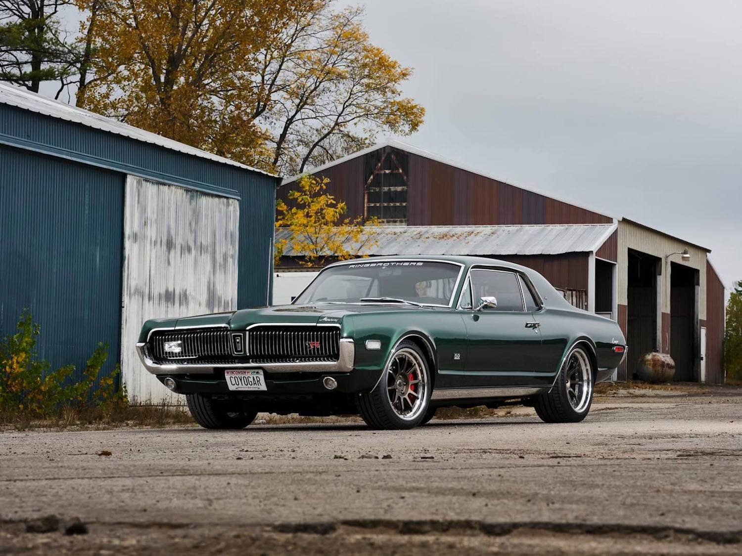 Ringbrothers Mercury Cougar XR7 muscle car restomod vintage car