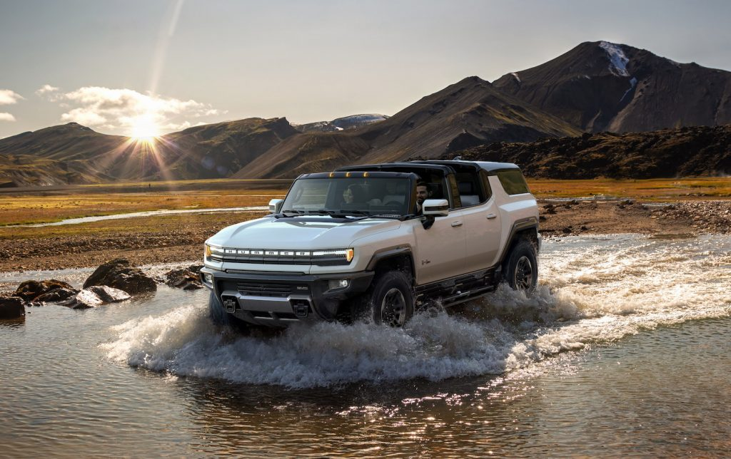 2024 GMC Hummer EV SUV electric off-road vehicle