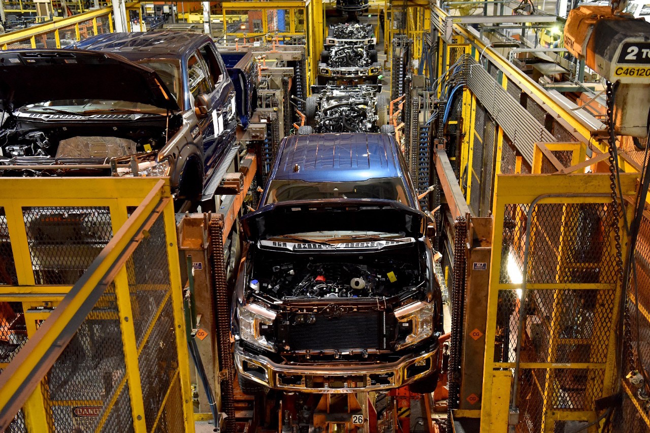 Ford truck plants are slated to close amid the global semiconductor chip shortages.