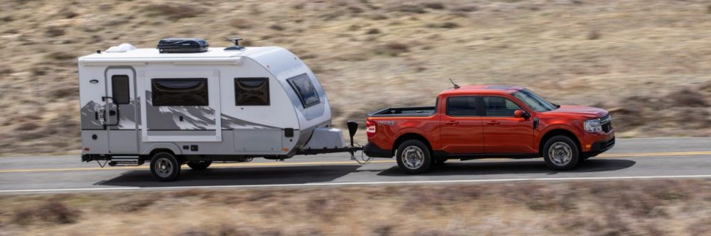 Ford Maverick 4K Tow Package Maximum Towing